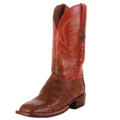 Lucchese Men's Cognac Bryan Caimain Western Boots