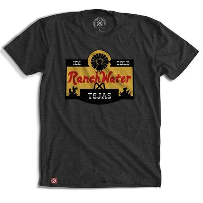 Tumbleweed Texstyles Men's Ranch Water Label T-Shirt