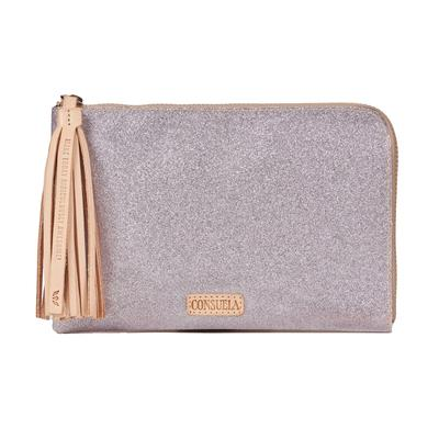 Consuela L-Shaped Jazz Clutch