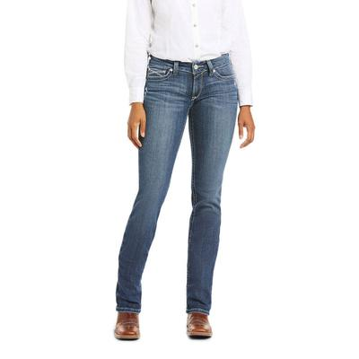 Ariat Women's R.E.A.L. Arrow Gianna Straight Leg Jeans