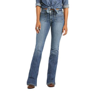 Ariat Women's R.E.A.L. Nautalis Boot Cut Jeans