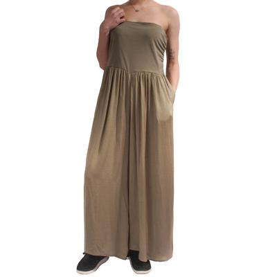 Kori Women's Olive Wide Leg Pants