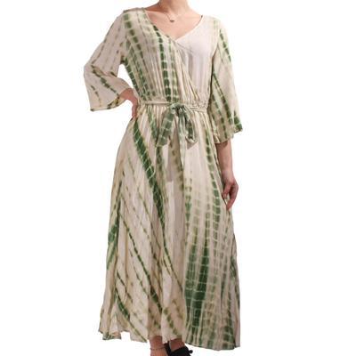Kori Women's Green Tie Dye Dress