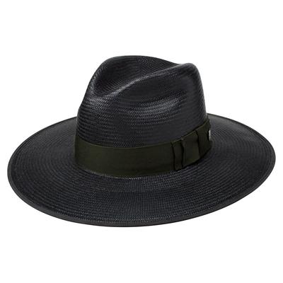 Stetson Women's Black Tri-City Straw Hat