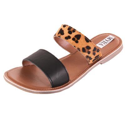 Myra Women's Strappy Hair-On Sandals