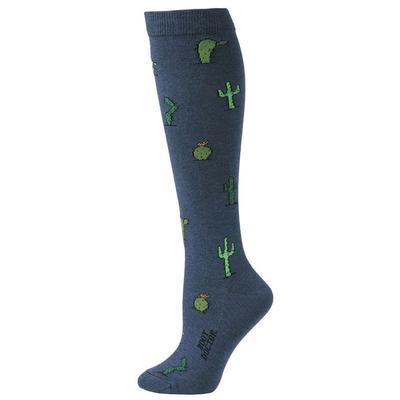 M&F Western Women's Navy Cactus Socks