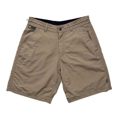 Howler Brothers Men's Horizon Hybrid Tortilla Tan Shorts