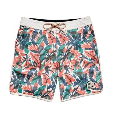 Howler Brothers Men's Cloud Forest Stretch Bruja Boadshorts