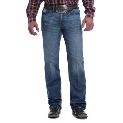 Cinch Men's White Label Relaxed Fit Straight Leg Medium Stonewash