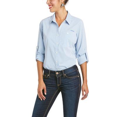 Ariat Women's Imperial Blue Venttek 2 Stretch Shirt