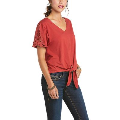Ariat Women's Hillary Lace Sleeve Top