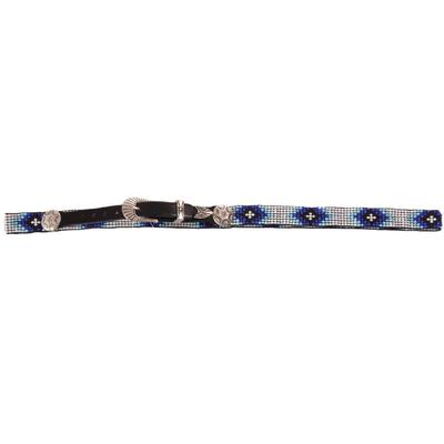 Austin Accent's Beaded Hat Band with Concho C