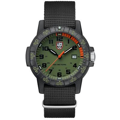 Luminox Black and Green Leatherback SEA Turtle Giant Watch