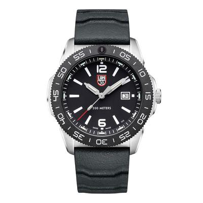 Luminox Black and Silver Pacific Diver Watch