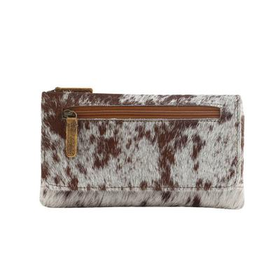 Myra Wildfire Hair-On Leather Wallet