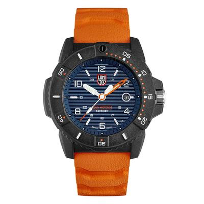 Luminox Navy and Orange Navy SEAL Magnifying Glass Watch