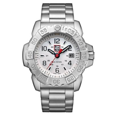 Luminox Silver Navy SEAL Steel Watch