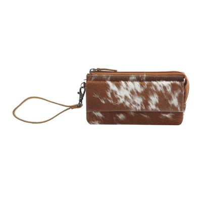 Myra Debatable Hair-On Leather Wallet