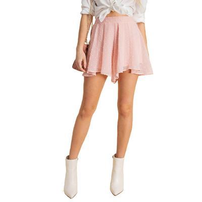 Kori Women's High Waisted Flutter Shorts