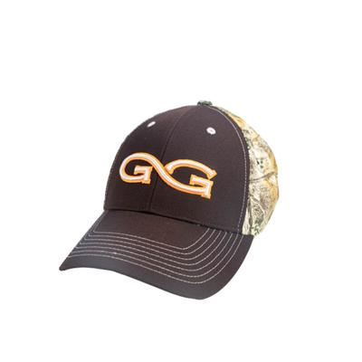 Game Guard Men's Chocolate and Camo Branded Cap