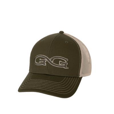 Game Guard Men's Olive Stone Branded Cap