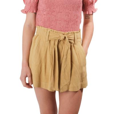 Another Love Women's Tina Front Tie Shorts WLG