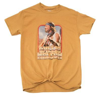 Gina Tees Women's Willie Nelson Guitar T-Shirt