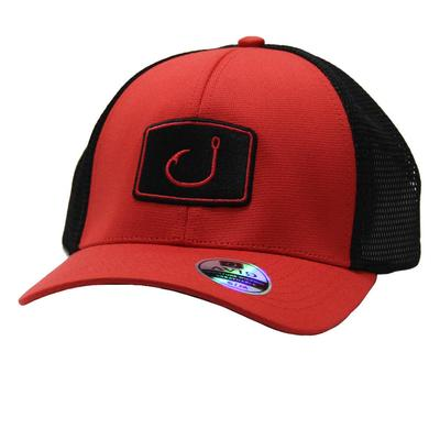 Avid Men's Iconic Fitted Mesh Trucker Cap DKCORAL