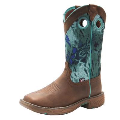 Justin Women's Rush Typhoon Waterproof Work Boots