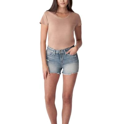 Silver Jeans Women's Avery High Rise Shorts