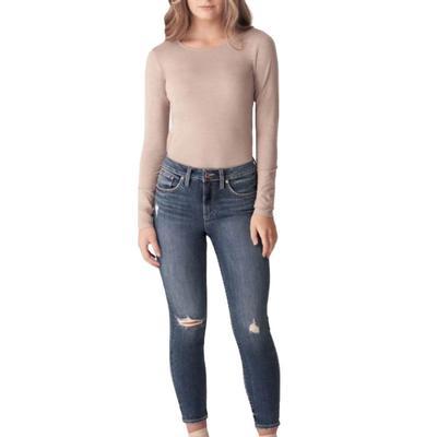 Silver Jeans Women's Avery Cropped Skinny Jeans