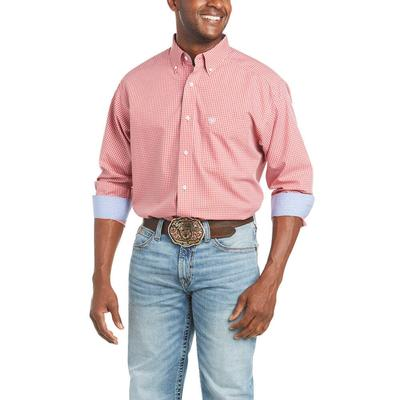 Ariat Men's Wrinkle Free Gaits Classic Fit Shirt