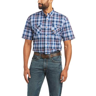 Ariat Men's Cobalt Rebar Durastretch Work Shirt