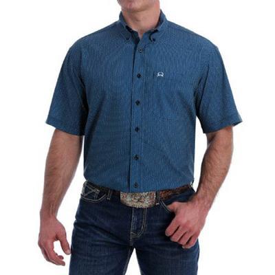 Cinch Men's Short Sleeve Arenaflex Button- Down
