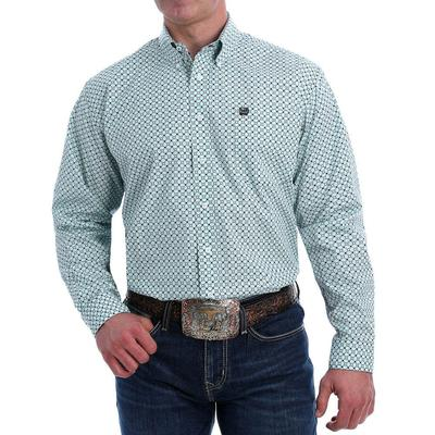 Cinch Men's Long Sleeve Button-Down Western Shirt