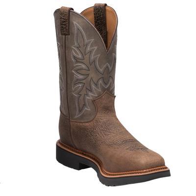 Justin Men's Scottsbluff Steel Toe Work Boots