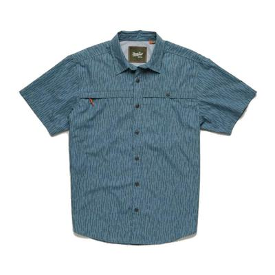Howler Brothers Men's Pacific Blue Tidepool Tech Short Sleeve