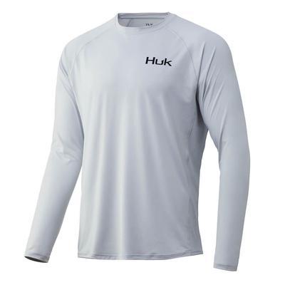 Huk Men's Tuna Badge Pursuit Long Sleeve