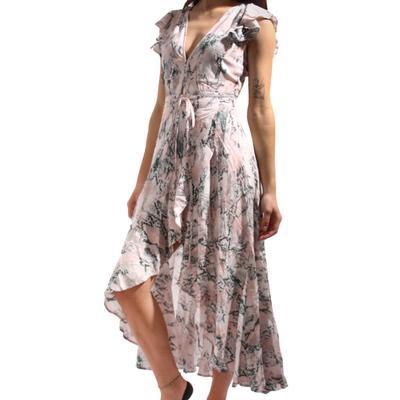 Buddy Love Women's Drew Snake Print Wrap Dress