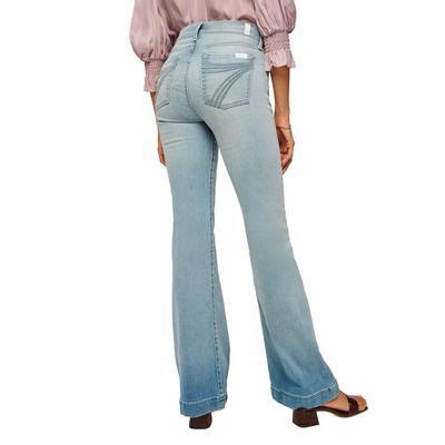 7 For All Mankind Women's Grace Blue Dojo Jeans