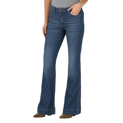 Wrangler Women's Retro High-Rise Trouser Jeans
