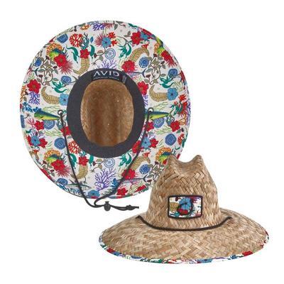 Avid Sundaze Straw Hat FISHFLORAL