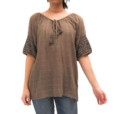 Dylan Women's Tate Embroidered Top