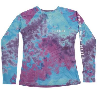 Huk Women's Tie Dye Pursuit Shirt