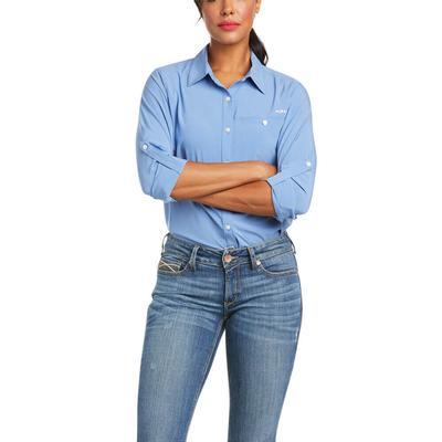 Ariat Women's Blue Yonder Venttek 2 Stretch Shirt