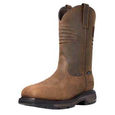 Ariat Men's WorkHog XT Waterproof Patriot Work Boots