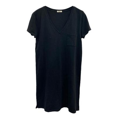 Dylan Women's Slub Boyfriend V-Neck Dress