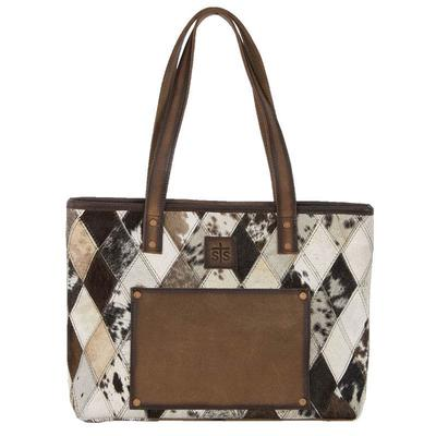 STS Ranchwear Diamond Cowhide Collection Basic Tote