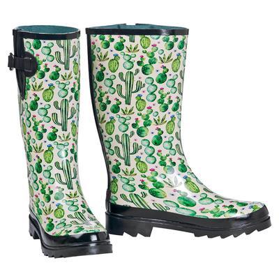 M&F Western Cactus Rain Boots