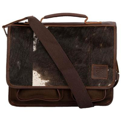 STS Ranchwear Cowhide Messenger Bag